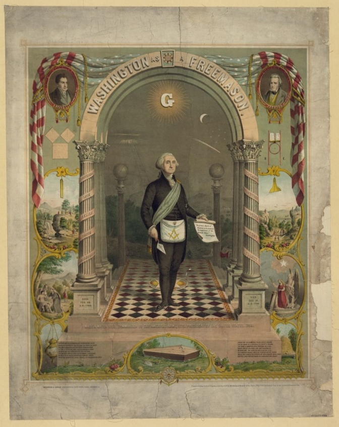 George Washington – Master Mason